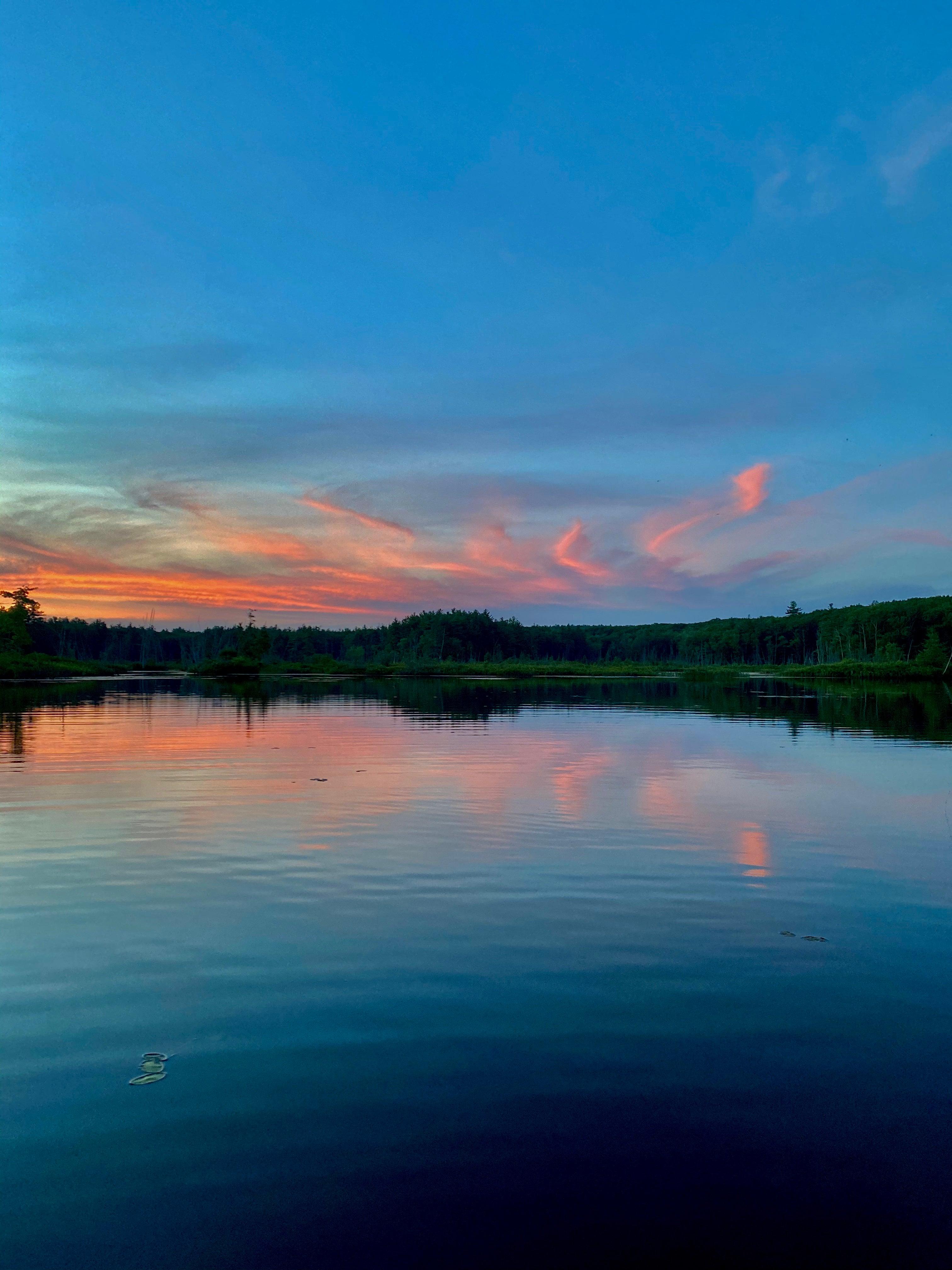 Moosehorn Pond in Hubbardston