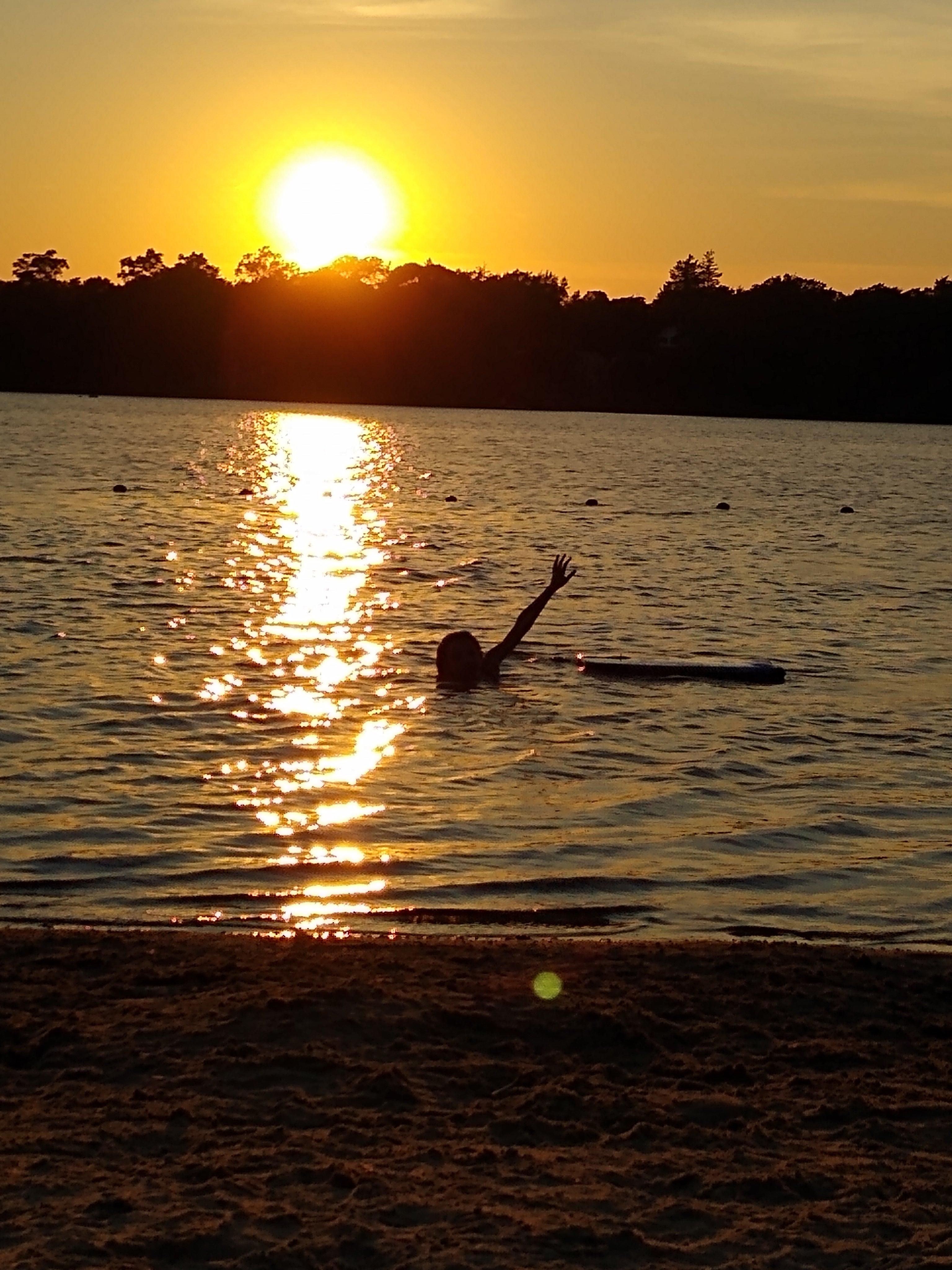 Scargo Lake in South Dennis