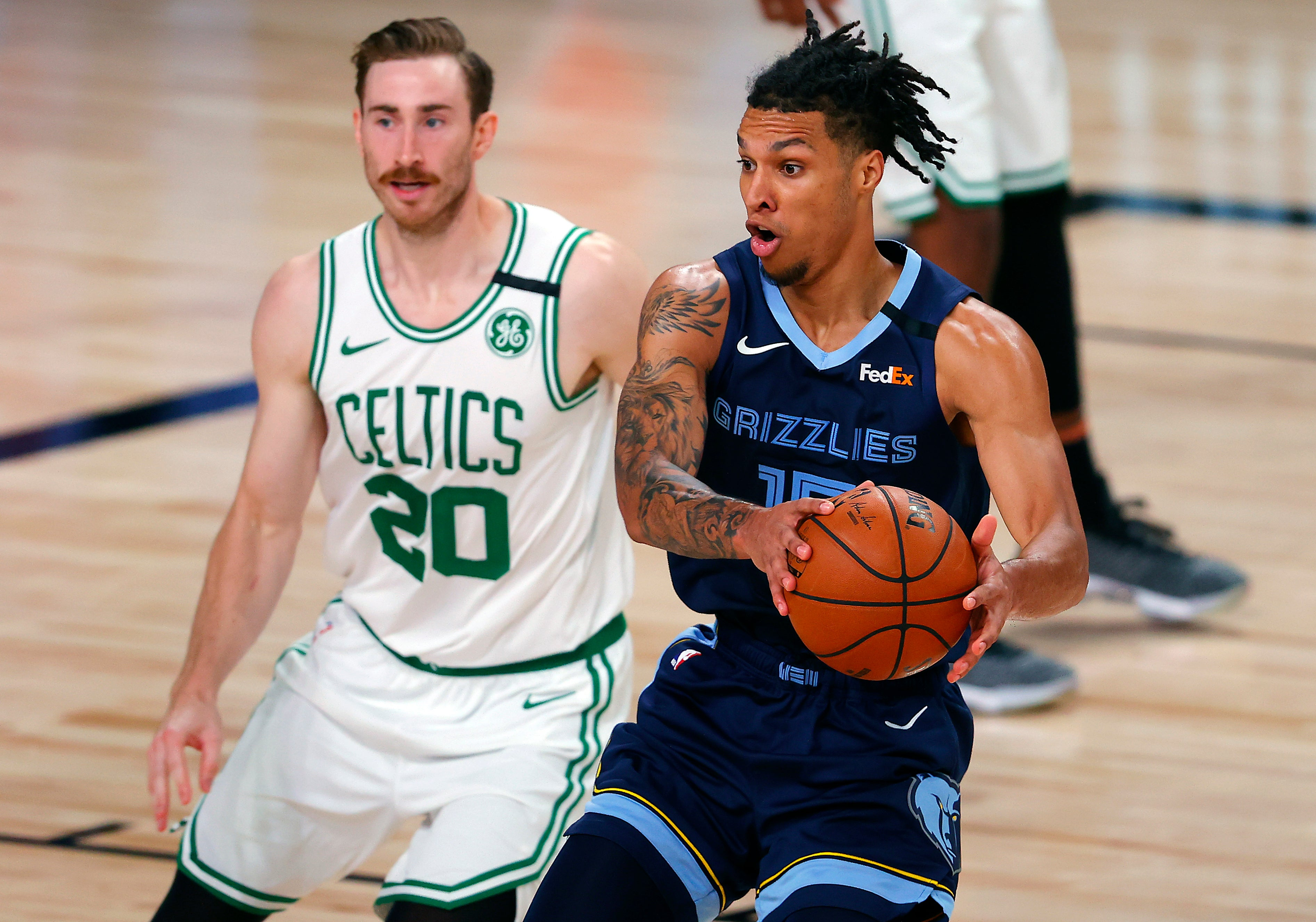 Celtics Win 4th Straight Top Grizzlies 122 107 Boston Com