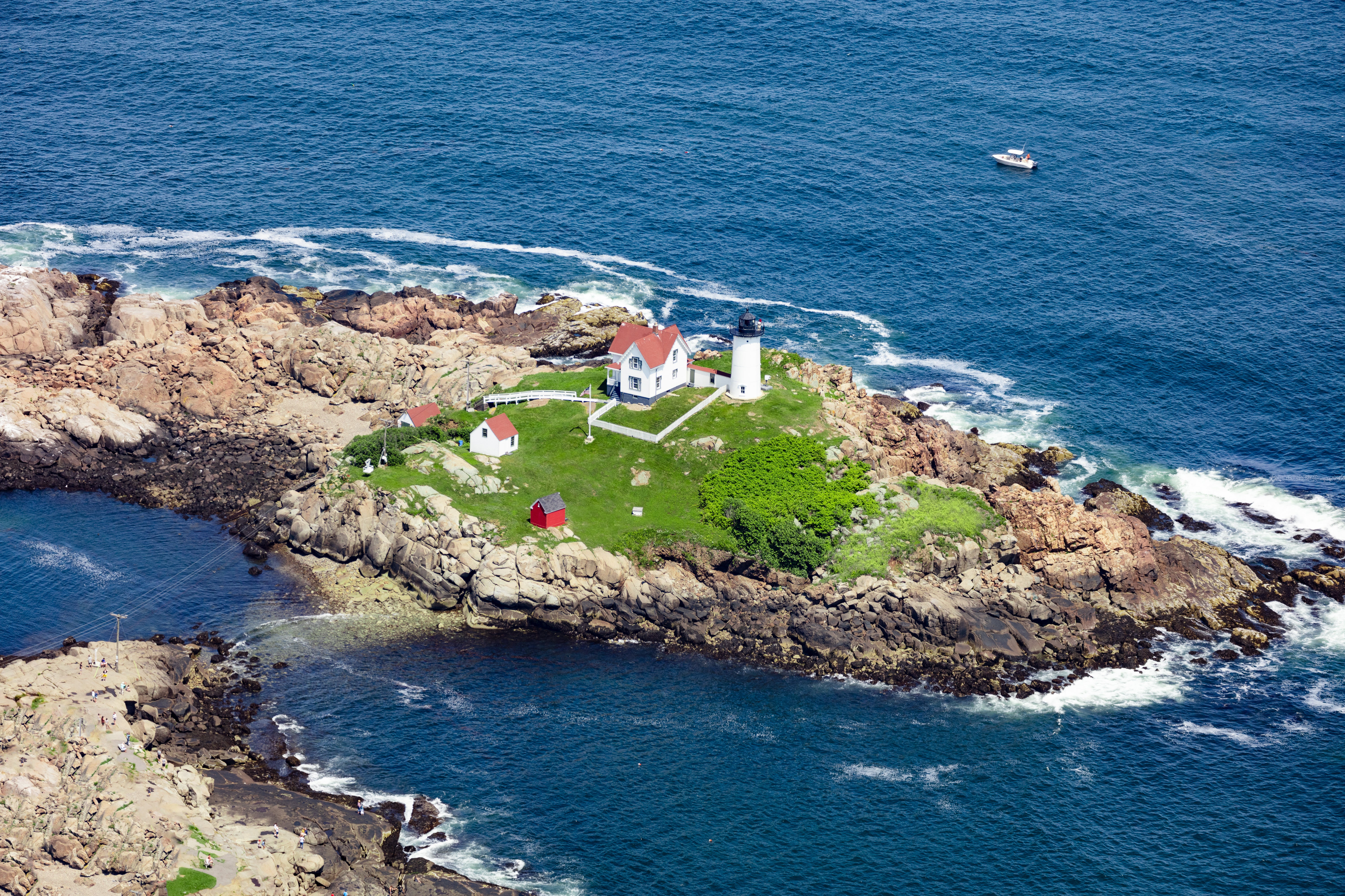 Check Out These Transportive Aerial Photos Of Maine S Beloved Coast Boston Com