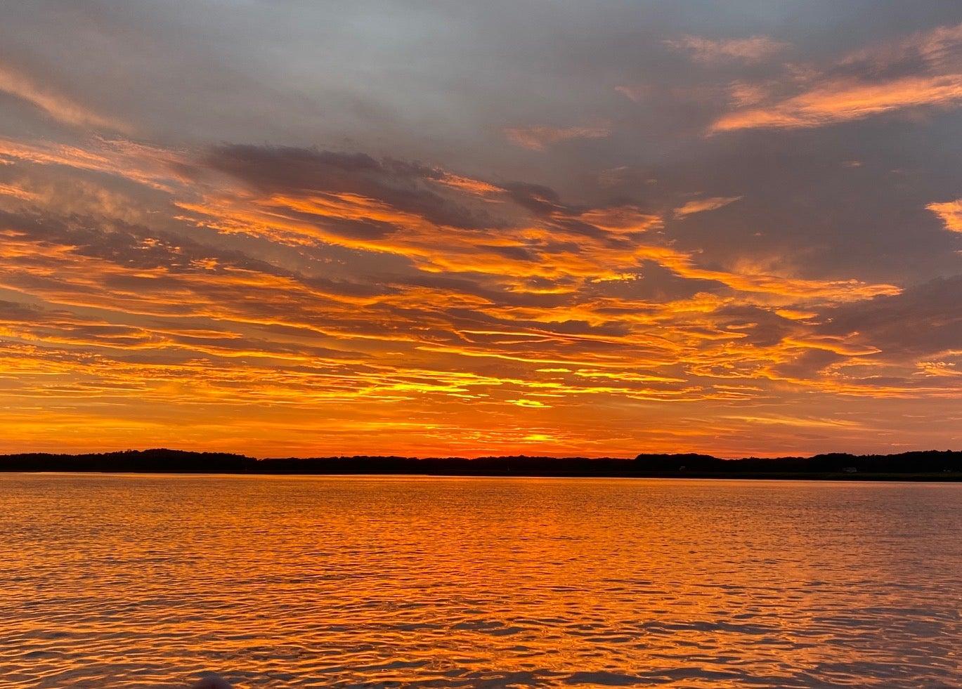 Plum Island Sound sunset
