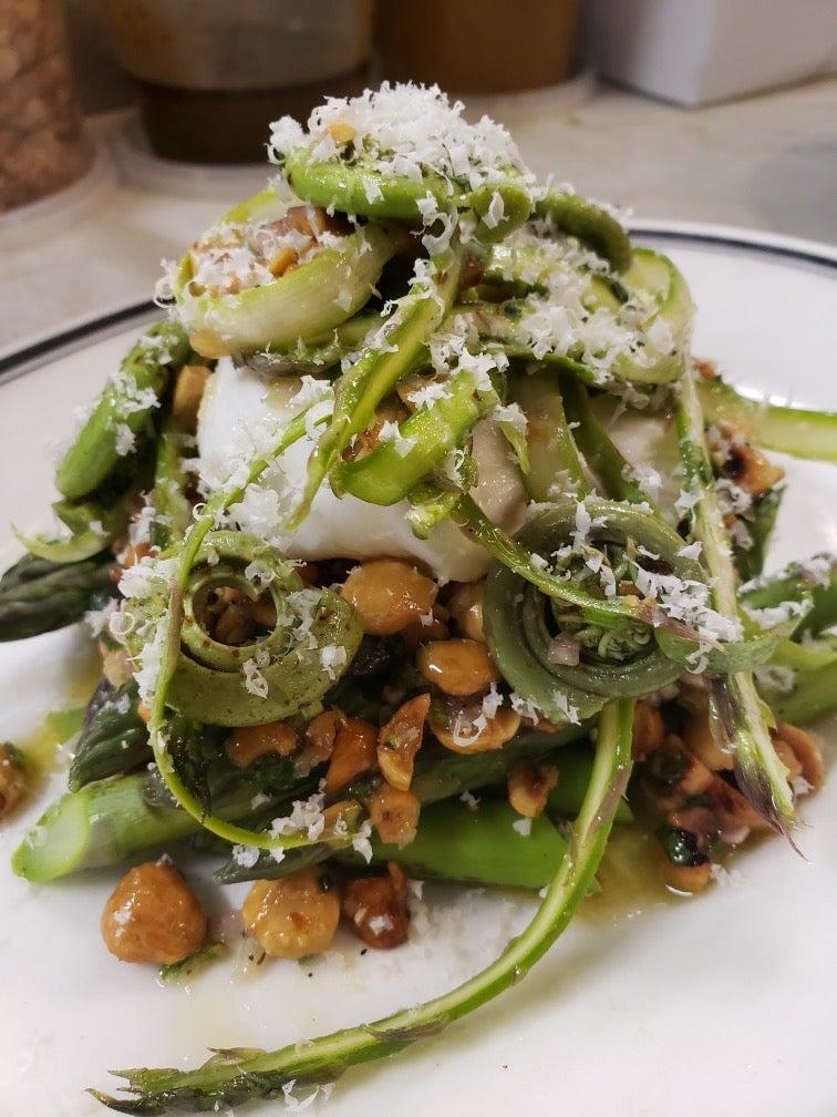 asparagus salad at source