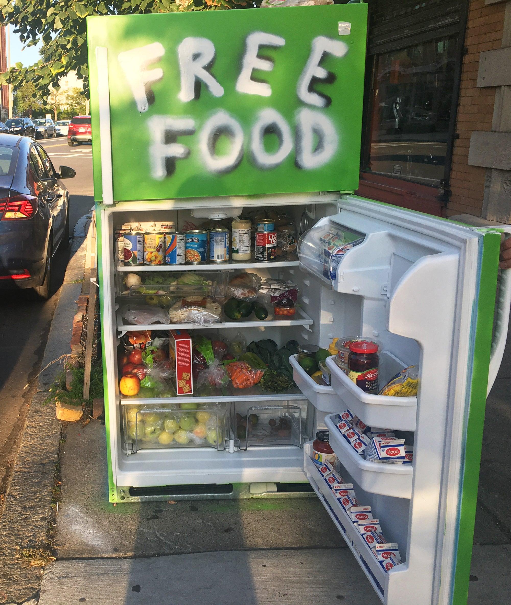 Jamaica Plain community fridge