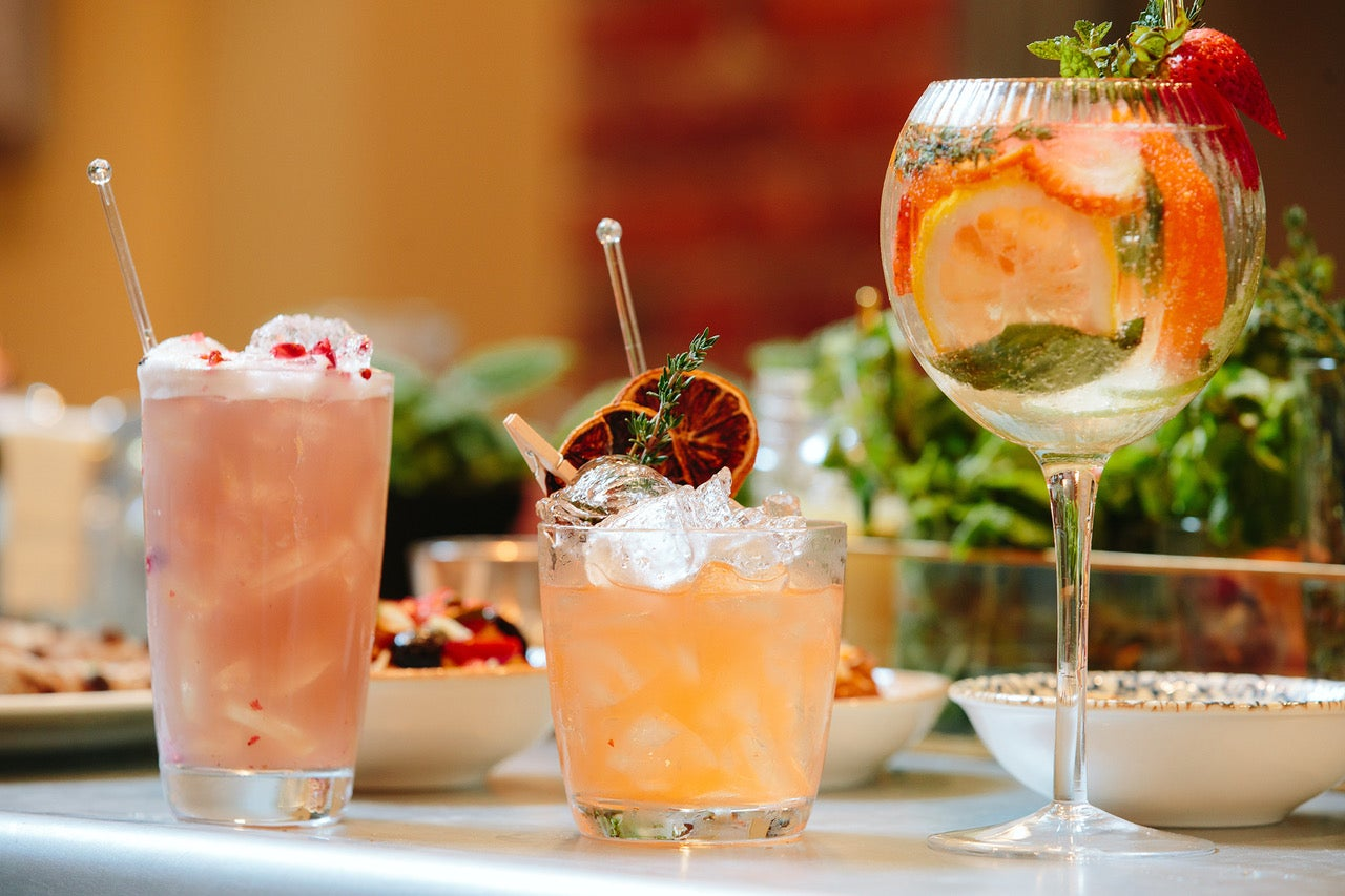 Cocktails at Servia
