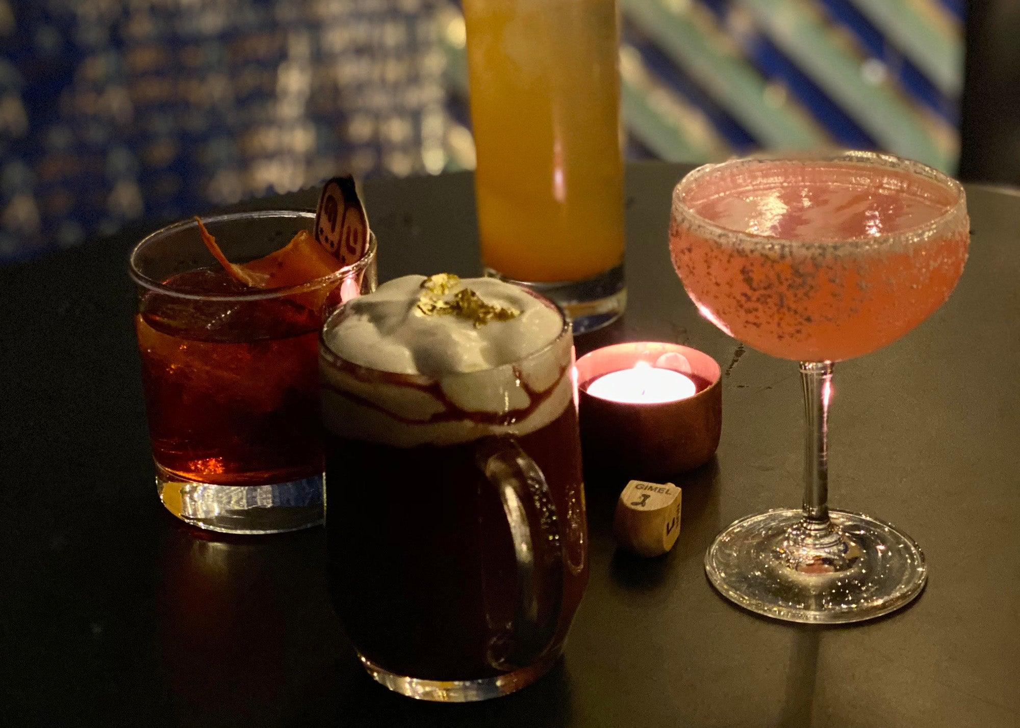 Drinks at Maccabee Bar