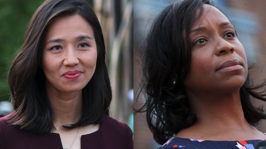 Michelle Wu and Andrea Campbell say they would fire city employees who attended Capitol riot - Boston.com