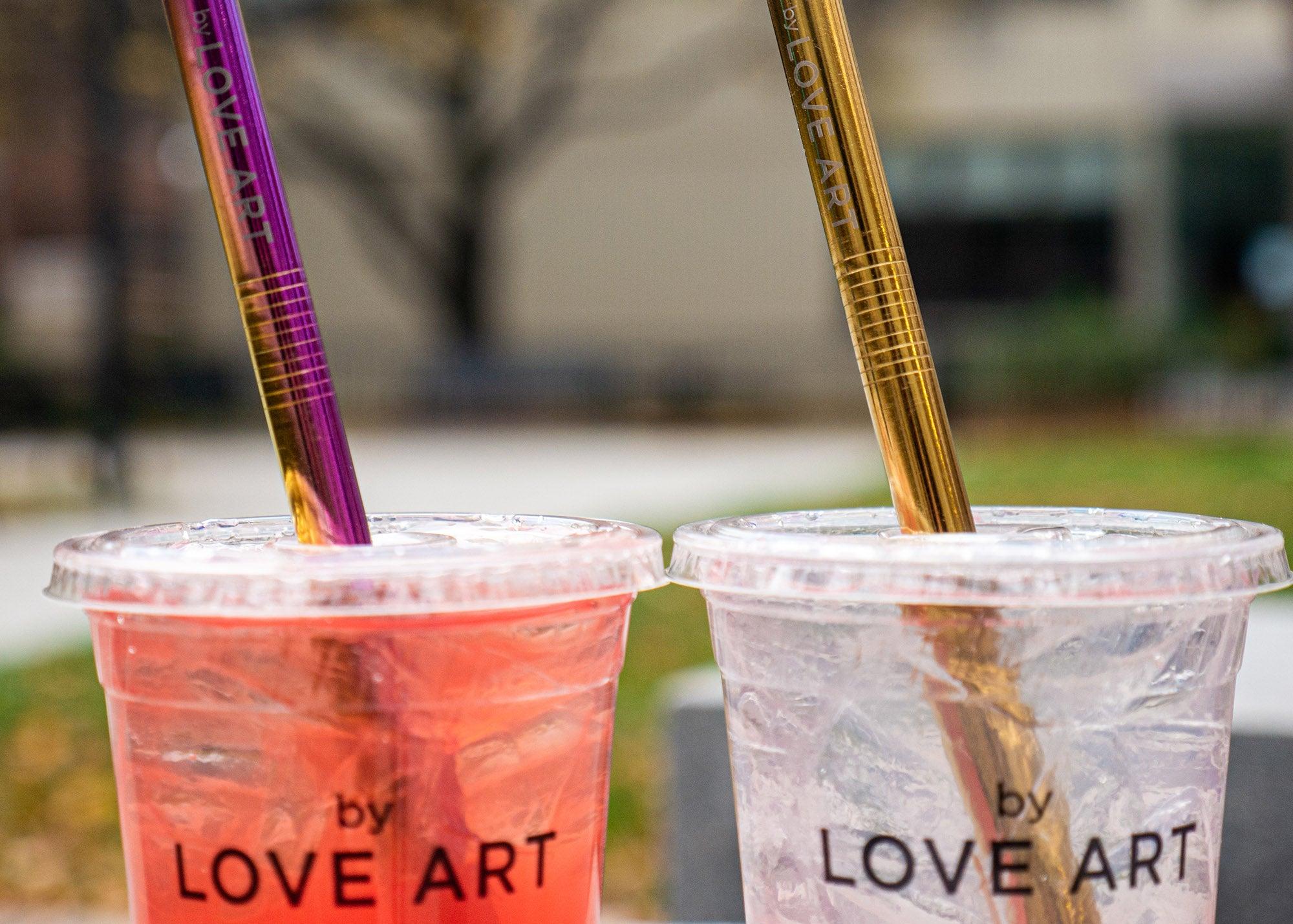 Love Art drinks