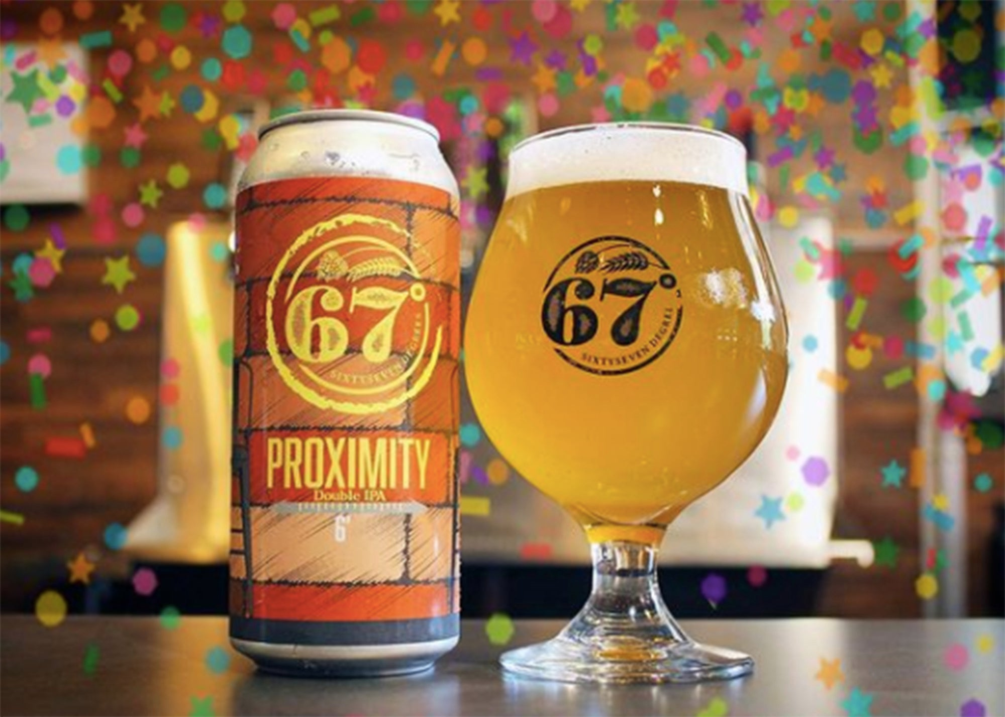 Proximity DIPA from 67 Degrees Brewing
