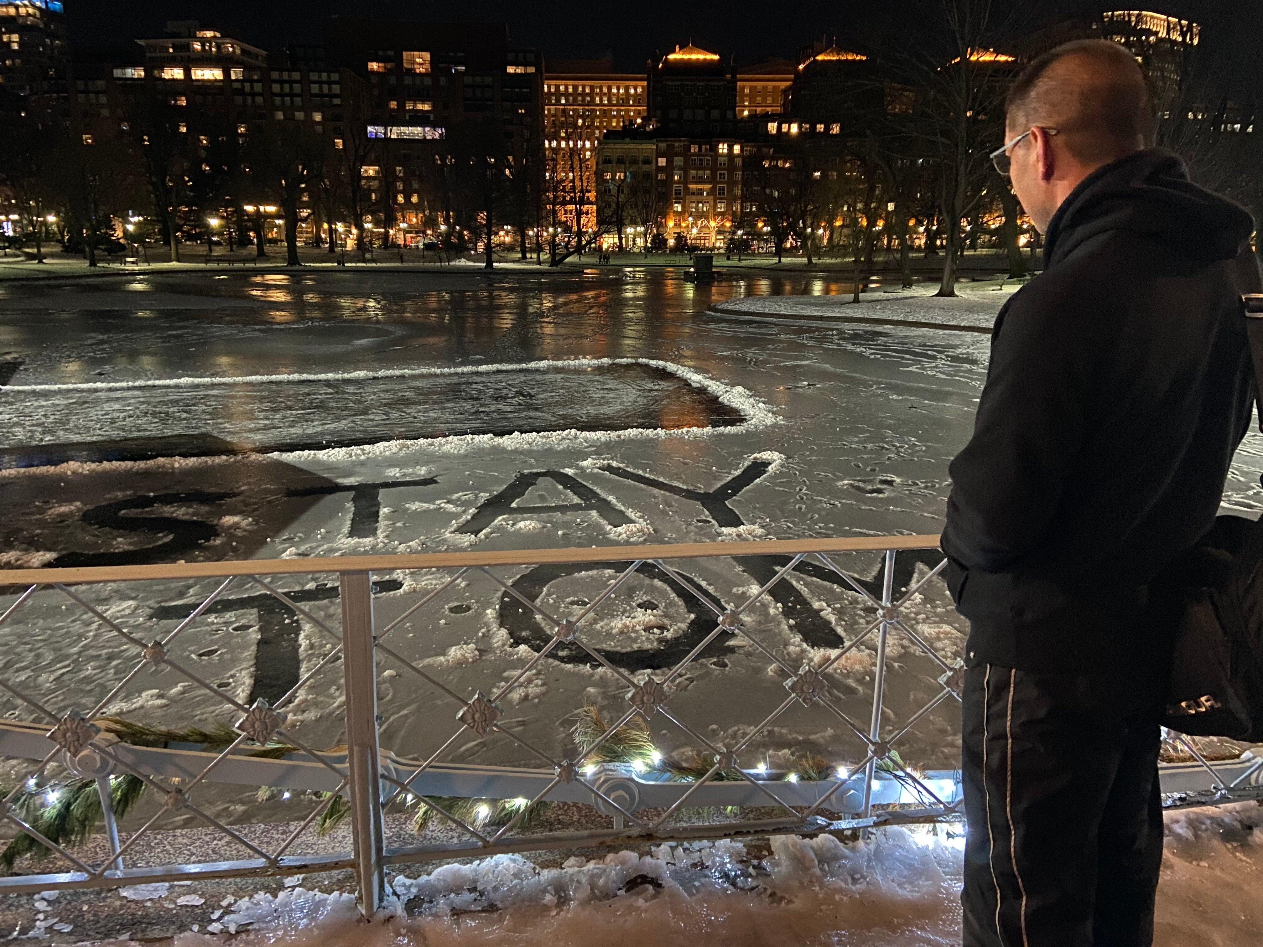 Stay Tom George Li Photo Boston Public Garden