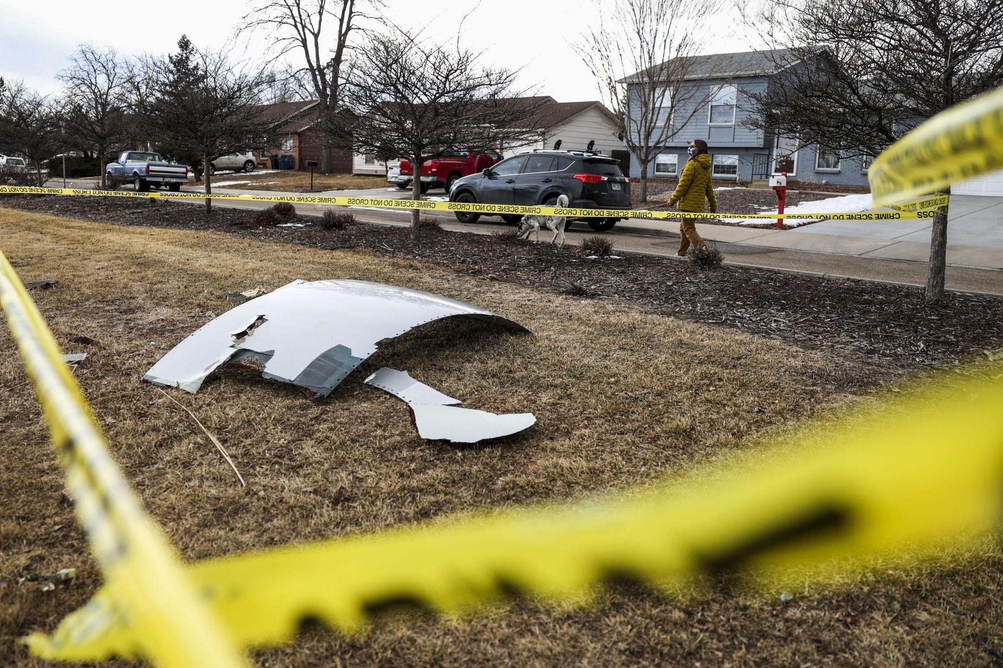 Boeing 777 Drops Debris Onto Denver Neighborhood After Engine Explosion
