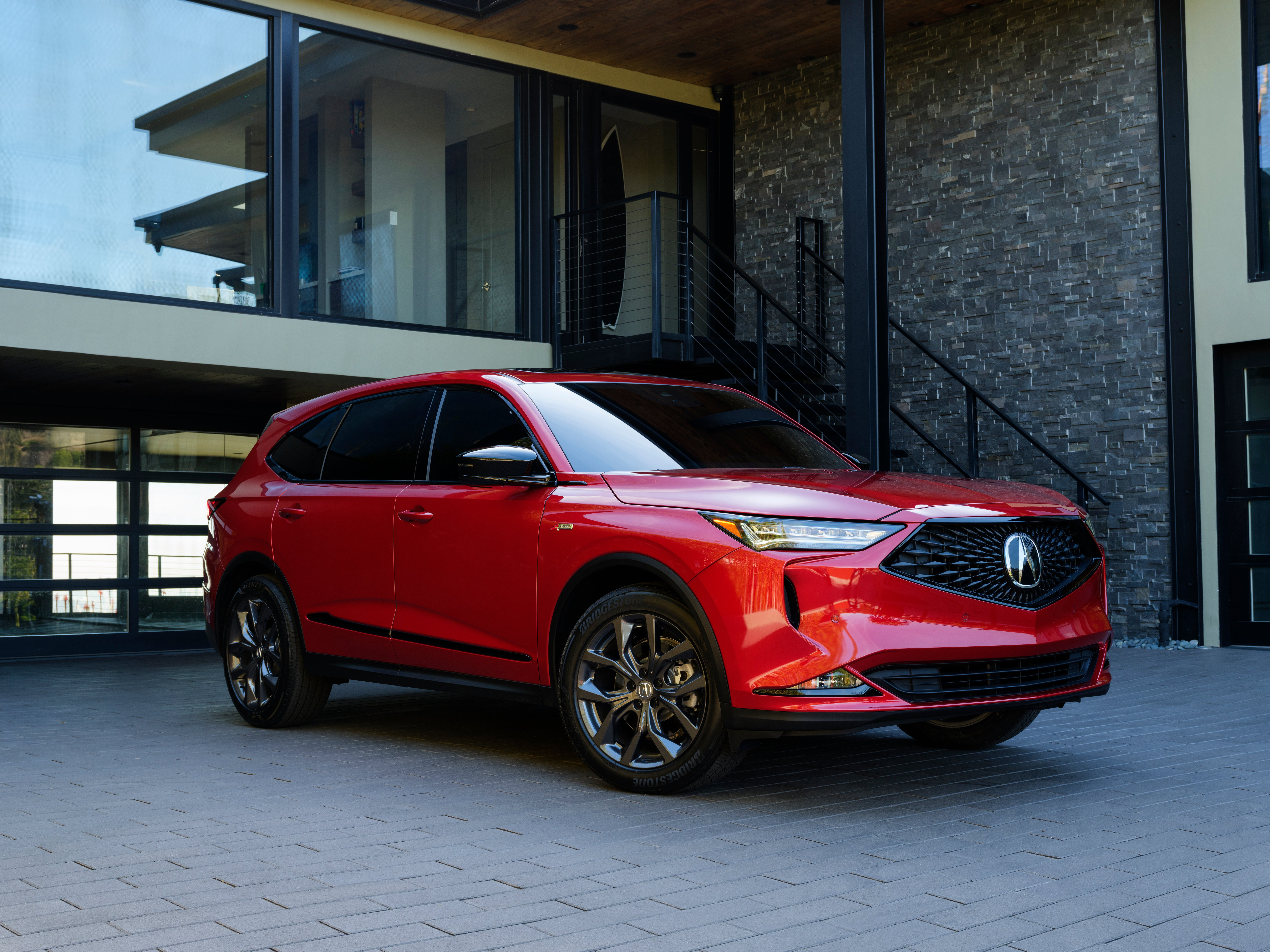 The 2022 Acura MDX A-Spec.