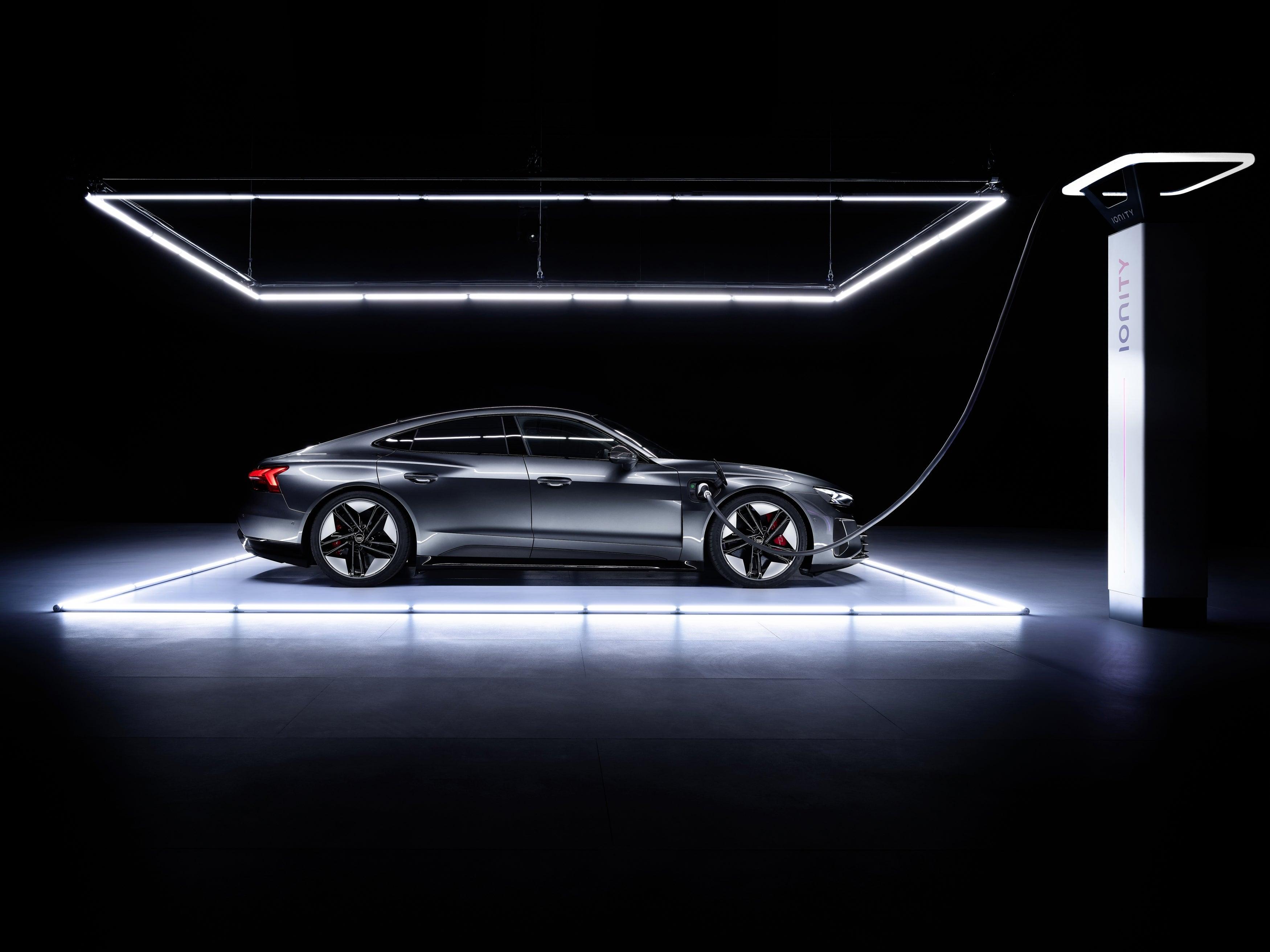 The 2022 Audi e-tron GT.