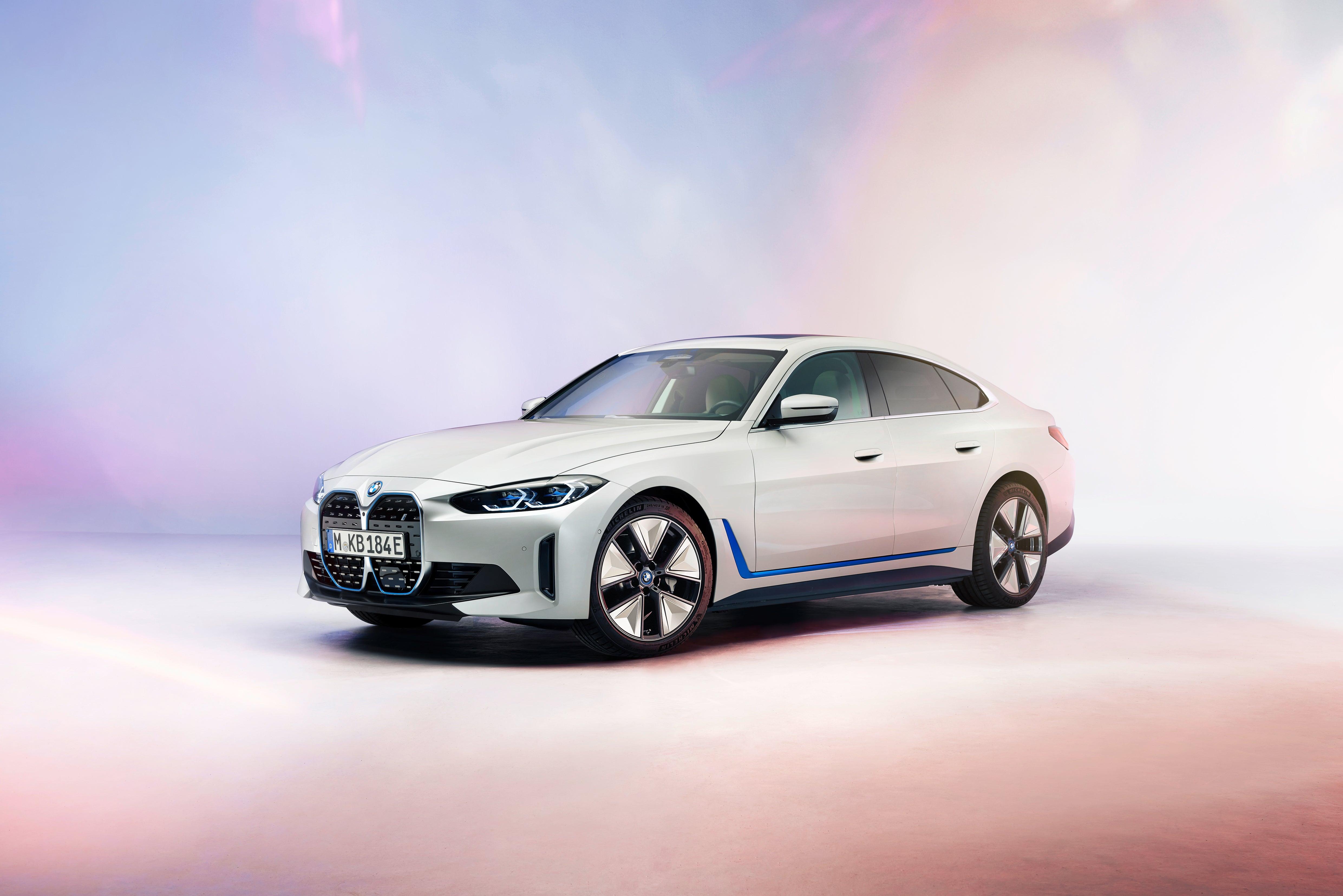 The 2022 BMW i4.