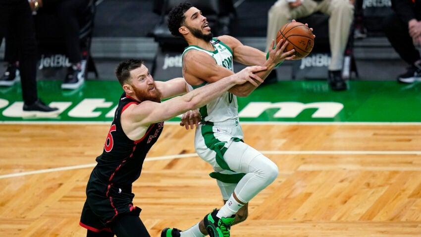 5 takeaways as Jayson Tatum, bench scoring leads Celtics over short-handed Raptors - Boston.com