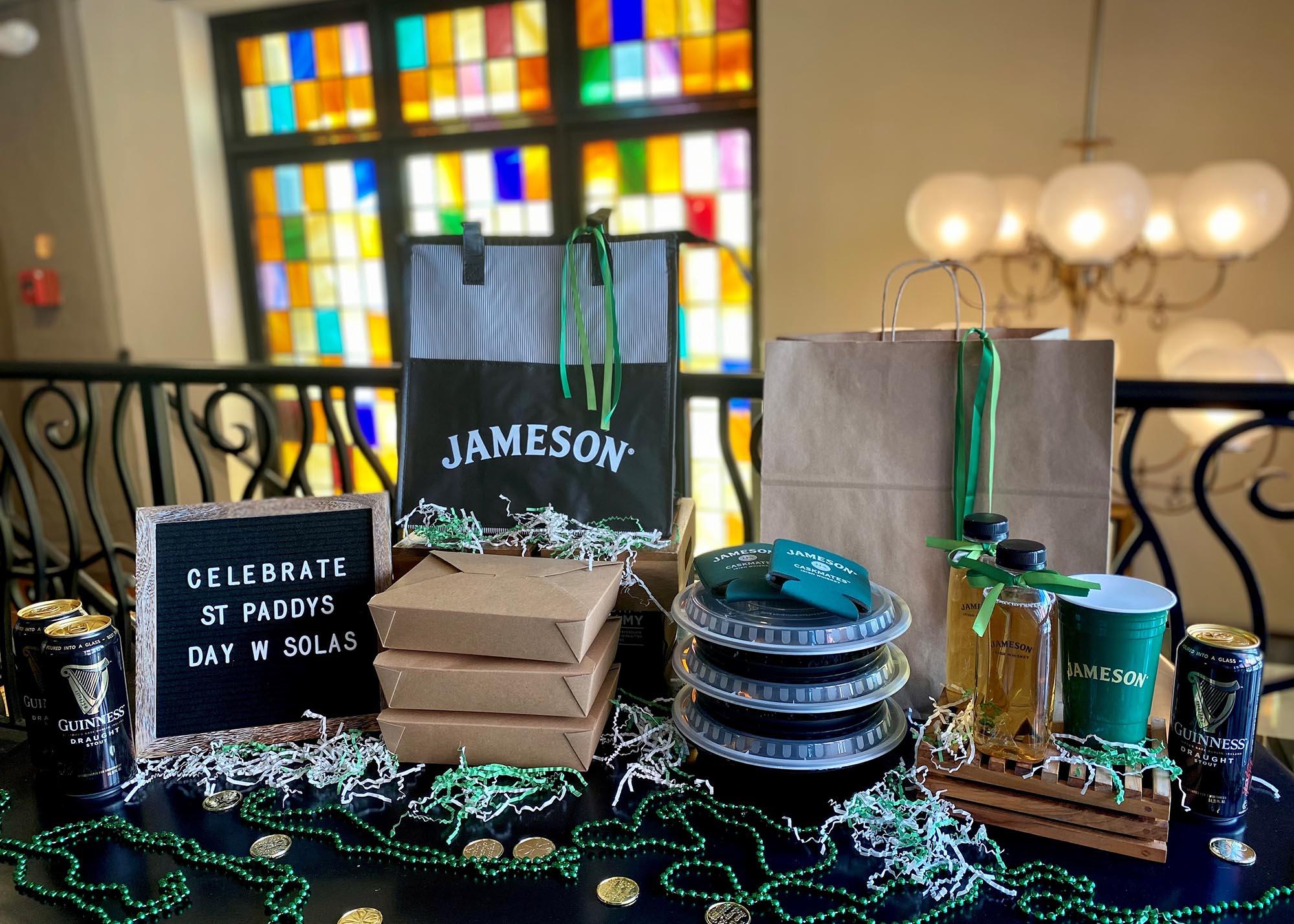 St. Patrick's Day takeout kits at Sólás