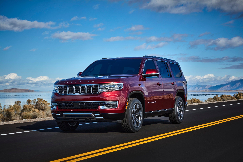 The 2022 Jeep Wagoneer Series II.