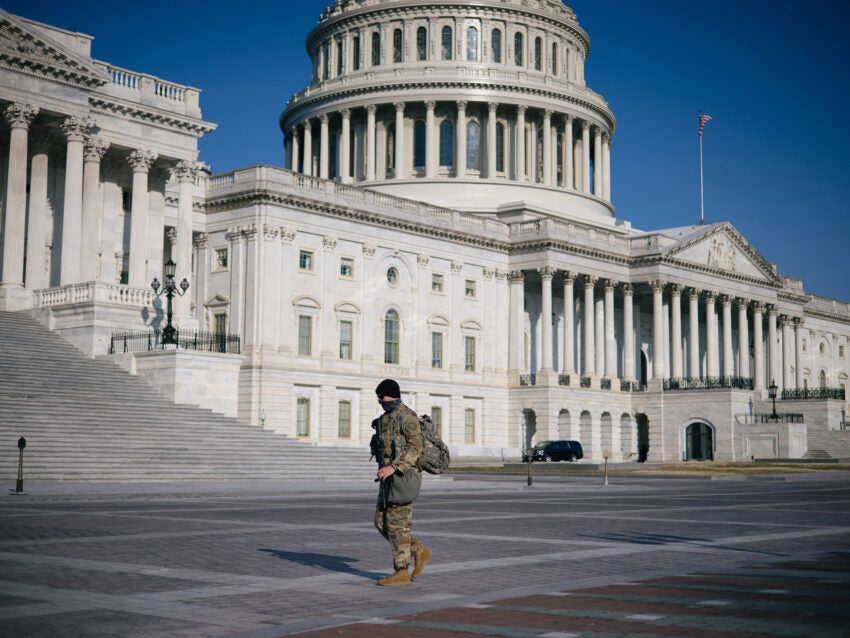 Capitol Police chief asks to extend National Guard presence thumbnail
