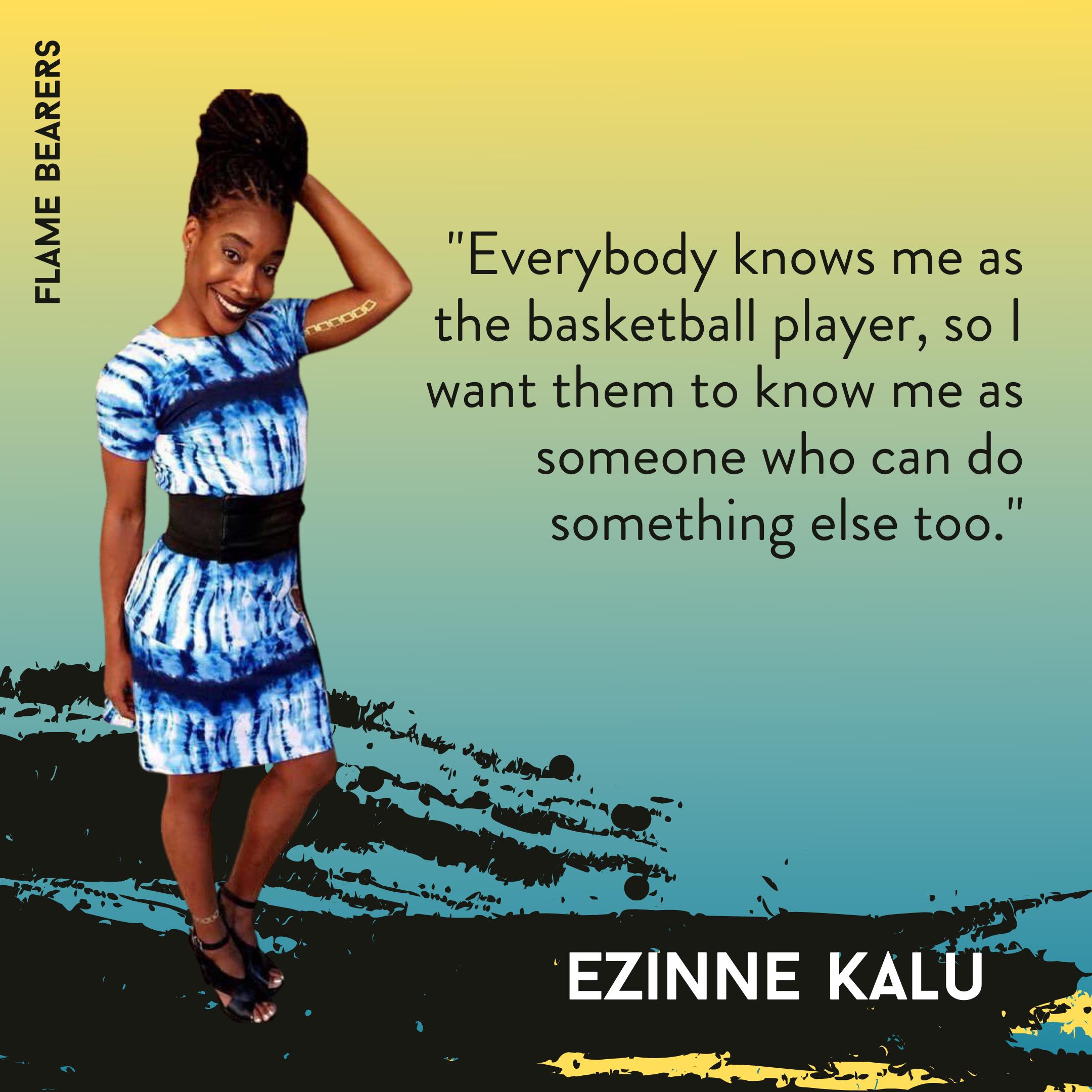 Ezinne Kalu-Phelps Olympics