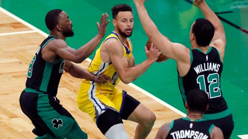 Jayson Tatum bests Steph Curry, Celtics beat Warriors 119-114 - Boston.com