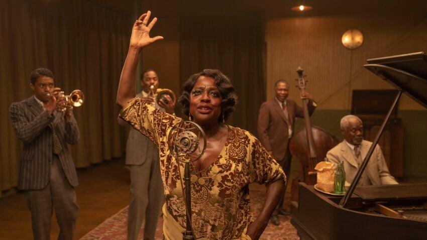"Viola Davis in ""Ma Rainey's Black Bottom."""