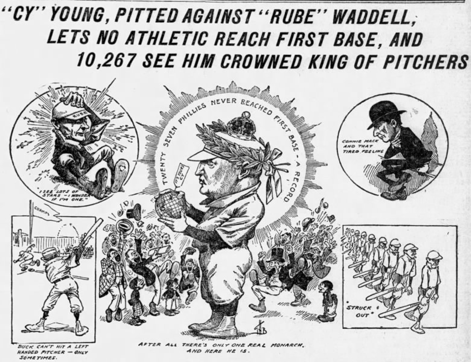 Cy Young perfect game 1904