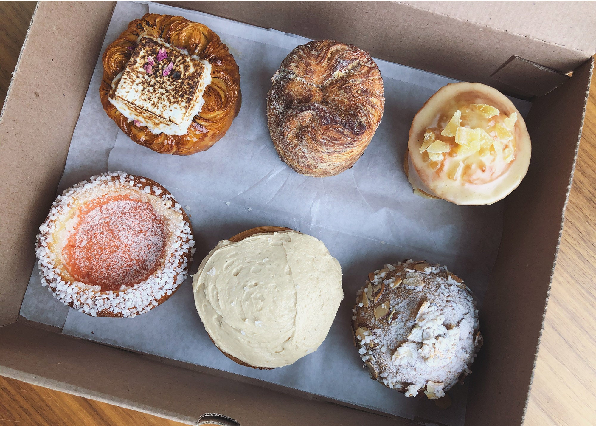 Mother's Day pastries from Cafe Beatrice