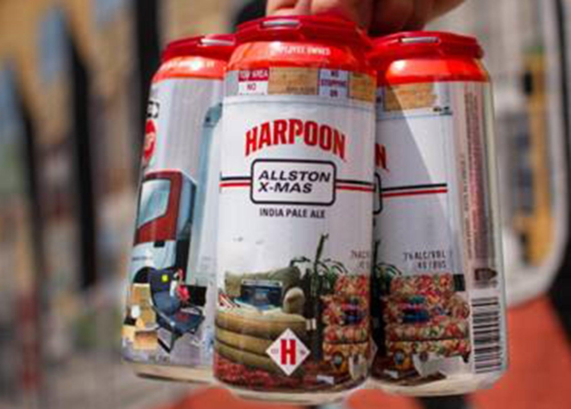 Harpoon Brewery's Allston X-Mas