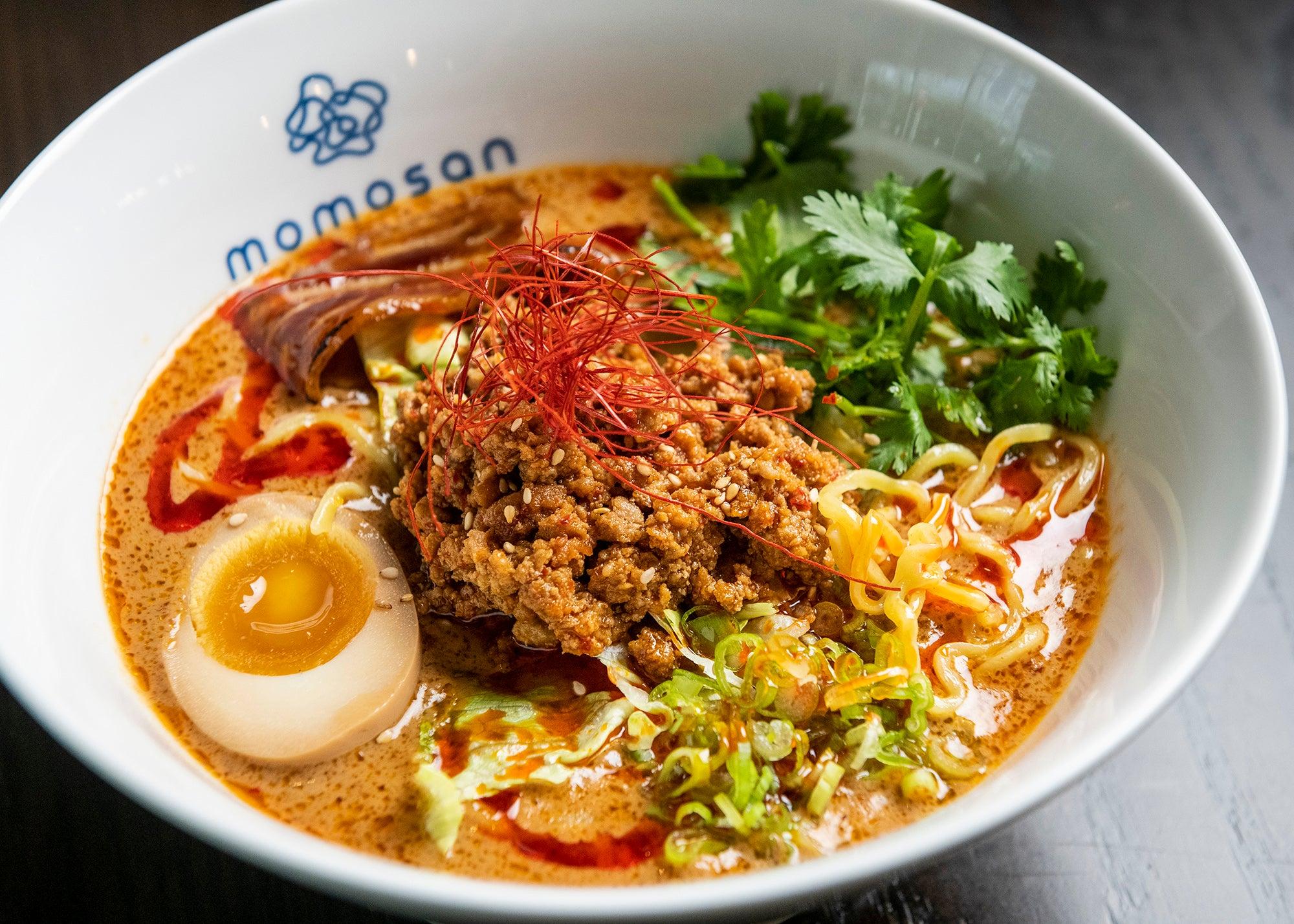Tan-Tan ramen at Momosan