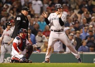 A controversial call was at the heart of the Yankees' win over the Red Sox